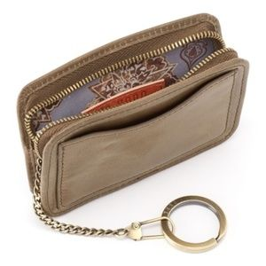 Hobo zip around wallet with keyring